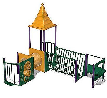 Modular playground equipment category