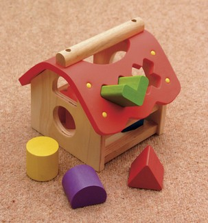 Shape sorting toys category
