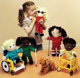 Disability awareness toys