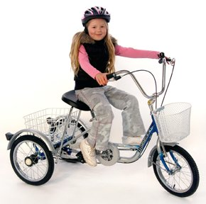 Bicycles and tricycles for children