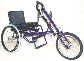 Hand propelled tricycles
