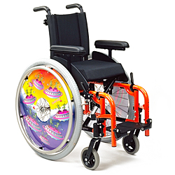 Standard self propelled wheelchairs category