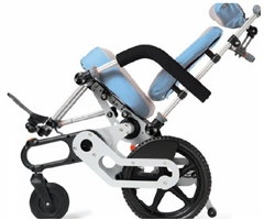 Tilt-in-space manual wheelchairs
