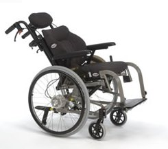 Reclining manual wheelchairs