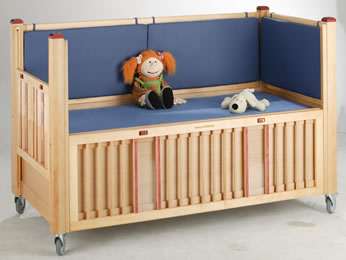 Height adjustable cots category