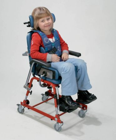 Multi-adjustable activity chairs for disabled children