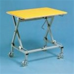 Desks with manual height adjustment category