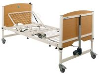 Non-profiling domestic care beds for heavy duty and bariatric use