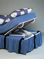Mattress inclinators for heavy duty and bariatric use