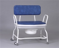 Combined commode & shower chairs category