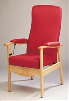 Chairs with a high back & adjustable features category
