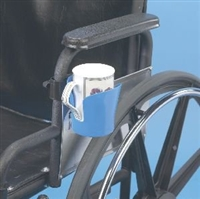 Wheelchair drink holders