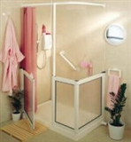 Low level stepped access shower trays category