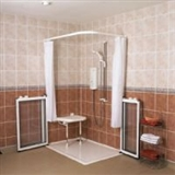 Level access shower trays and formers category