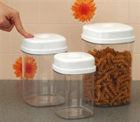 Storage jars with non standard features category