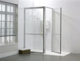 Stepped access corner shower cubicles category