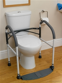 folding toilet frames category