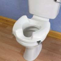 Raising the height of the toilet seat category