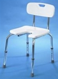 Static shower stools with backrest category