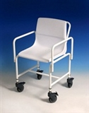 Attendant propelled shower chairs