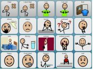 Alternative and augmentative communication (AAC) software with spoken output