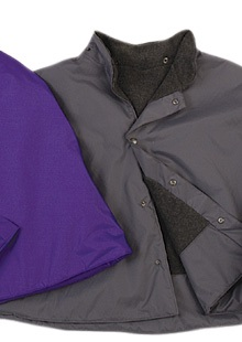 Outerwear for wheelchair and scooter users - capes category