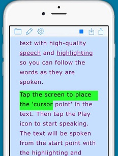 Text to speech apps and software from clipboard, computer files or eBooks category