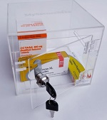 Secure storage boxes for medication category
