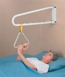 Wall or ceiling mounted lifting poles category