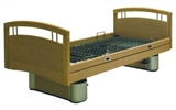 Image of adjustable height bed