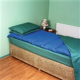 Fibre filled mattress overlays