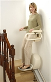 Standing and perching stairlifts category