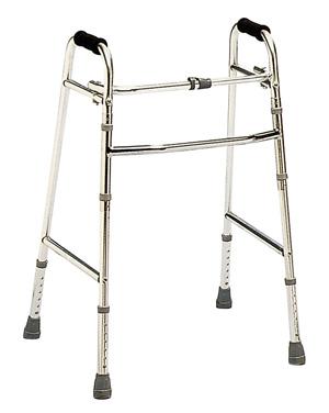 Adjustable Folding Zimmer Walking Aid 1
