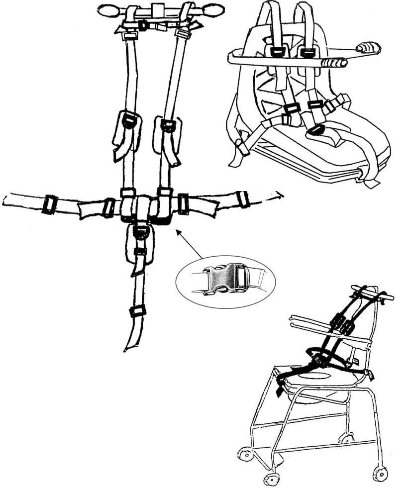 Autolift Chair Harness 1