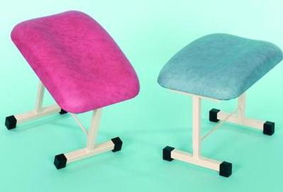 Upholstered Foot Stool With Adjustable Top