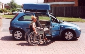 wheelchair lift for car. Cowal Wheelchair Car Top Hoist Lift For