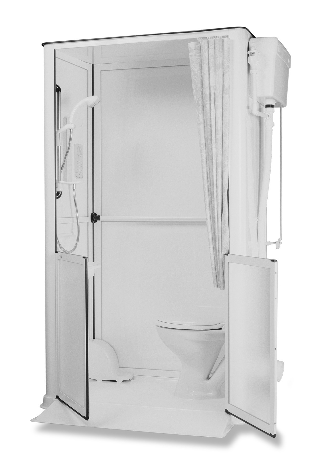 Side Entry Shower Toilet Cubicle Living Made Easy