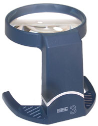 Coil Stand Magnifiers With Tilt