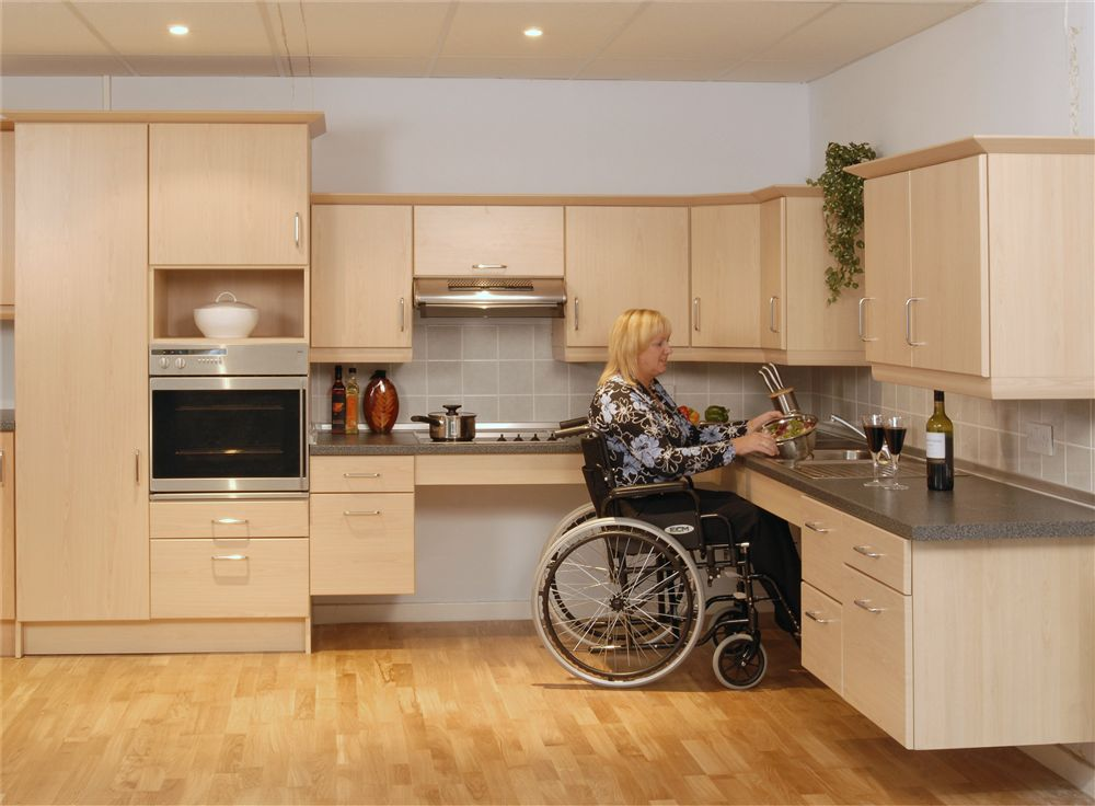 kitchen design for disabled system flex kitchens living made easy 807