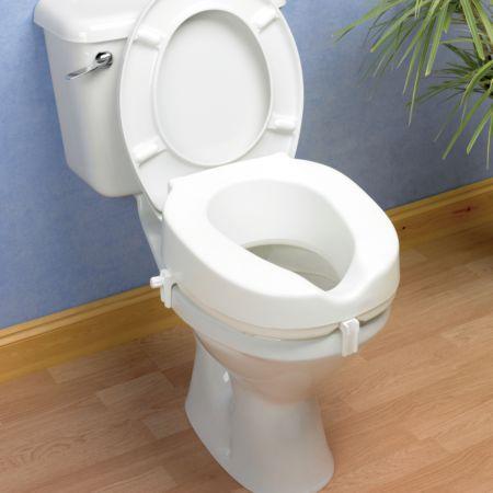 Awe Inspiring Taunton Raised Toilet Seat Living Made Easy Evergreenethics Interior Chair Design Evergreenethicsorg