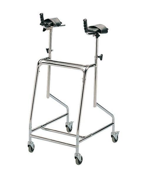 Atlas Standard Walking Frame With Padded Rest Pad 1