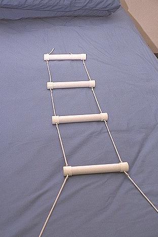 bed rope ladder. Black Bedroom Furniture Sets. Home Design Ideas