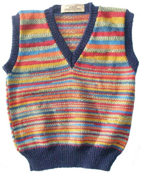 Hand Knitted Sleeveless Jerseys