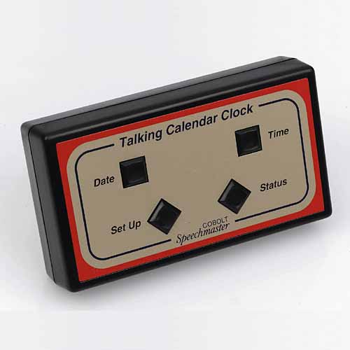 Talking Calendar Alarm Clock
