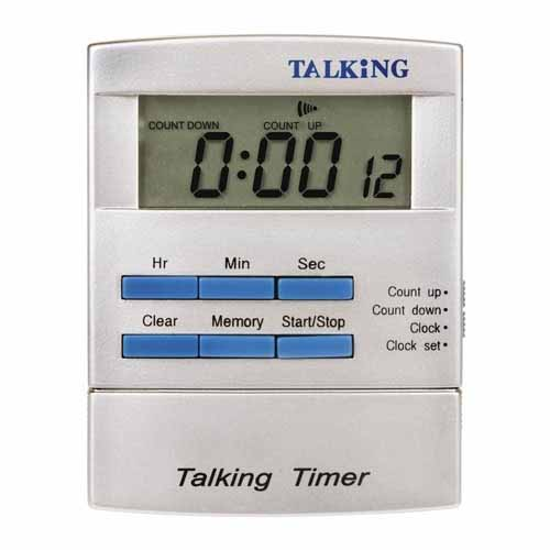Talking Pocket Sized Timer And Clock