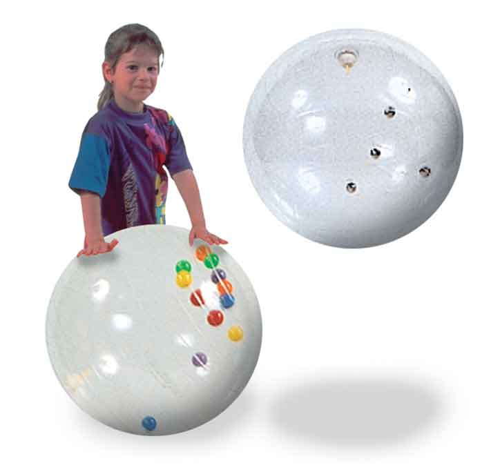 Clear Jingle Ball With Balls 1