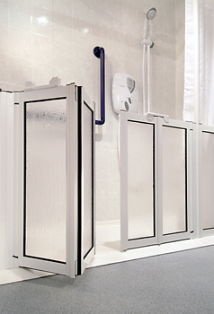 half height shower screens