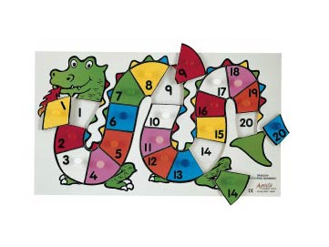 Number Dragon Puzzle