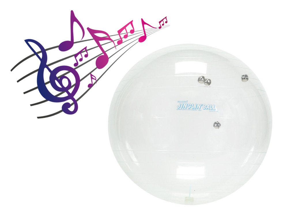Clear Jingle Bell Ball 2