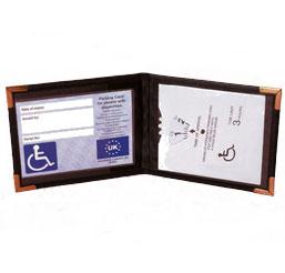 Blue Badge And Timer Wallet 1
